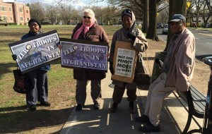 Teaneck NJ Peace Vigil