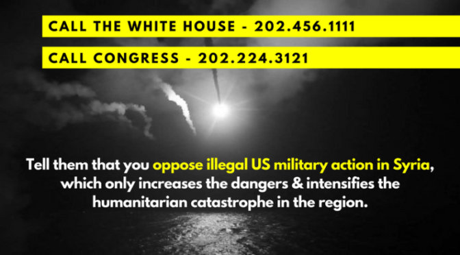 Take Action Against Escalating War in Syria